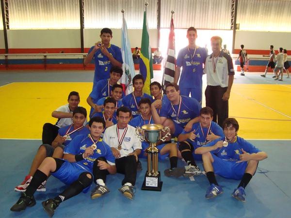 0b80adeac3 Equipe masculina do Atleta Cidadão conquista as Olimpíadas Escolares ...