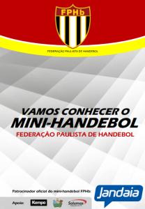 Livro Mini-Handebol Federação Paulista de Handebol